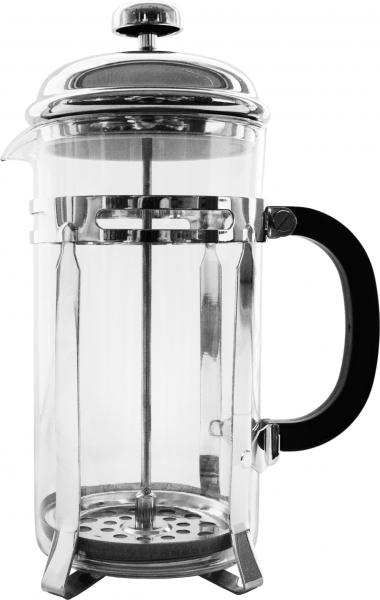 """Френч-пресс Attribute """"Flavor"""" используется для заваривания крупнолистового чая, кофе среднего помола, травяных сборов. Изготовлен из высококачественной нержавеющей стали и термостойкого стекла, выдерживающего высокую температуру, что придает ему надежность и долговечность. Френч-пресс Attribute """"Flavor"""" незаменим для любителей чая и кофе.Можно мыть в посудомоечной машине.Объем: 600 мл."""