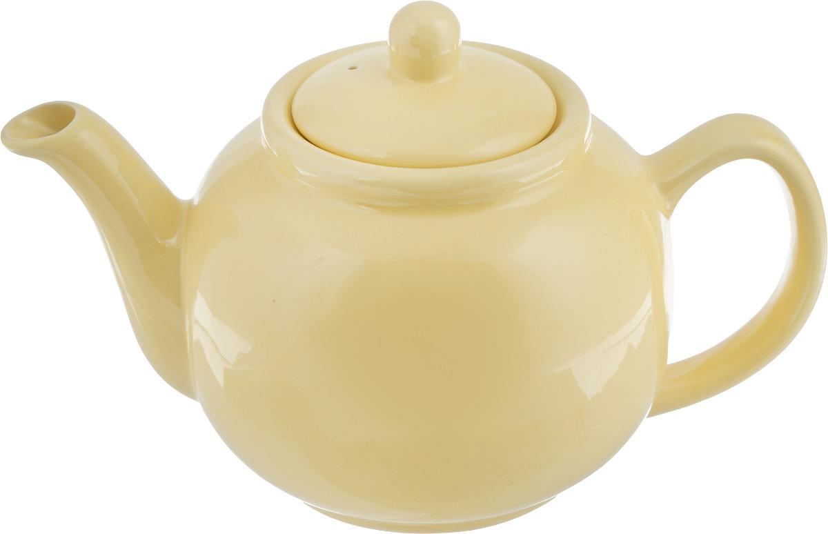 Чайник заварочный Loraine, цвет: желтый, 940 мл24868Заварочный чайник Loraine изготовлен из прочной керамики высокого качества без примеси ПФОК. Глазурованное покрытие делает поверхность абсолютно гладкой и легкой для чистки. Изделие прекрасно подходит для заваривания вкусного и ароматного чая, травяных настоев. Оригинальный дизайн сделает чайник настоящим украшением стола. Он удобен в использовании и понравится каждому.Можно мыть в посудомоечной машине, использовать в микроволновой печи и ставить в холодильник. Диаметр чайника (по верхнему краю): 9 см. Высота чайника (без учета крышки): 11,5 см.