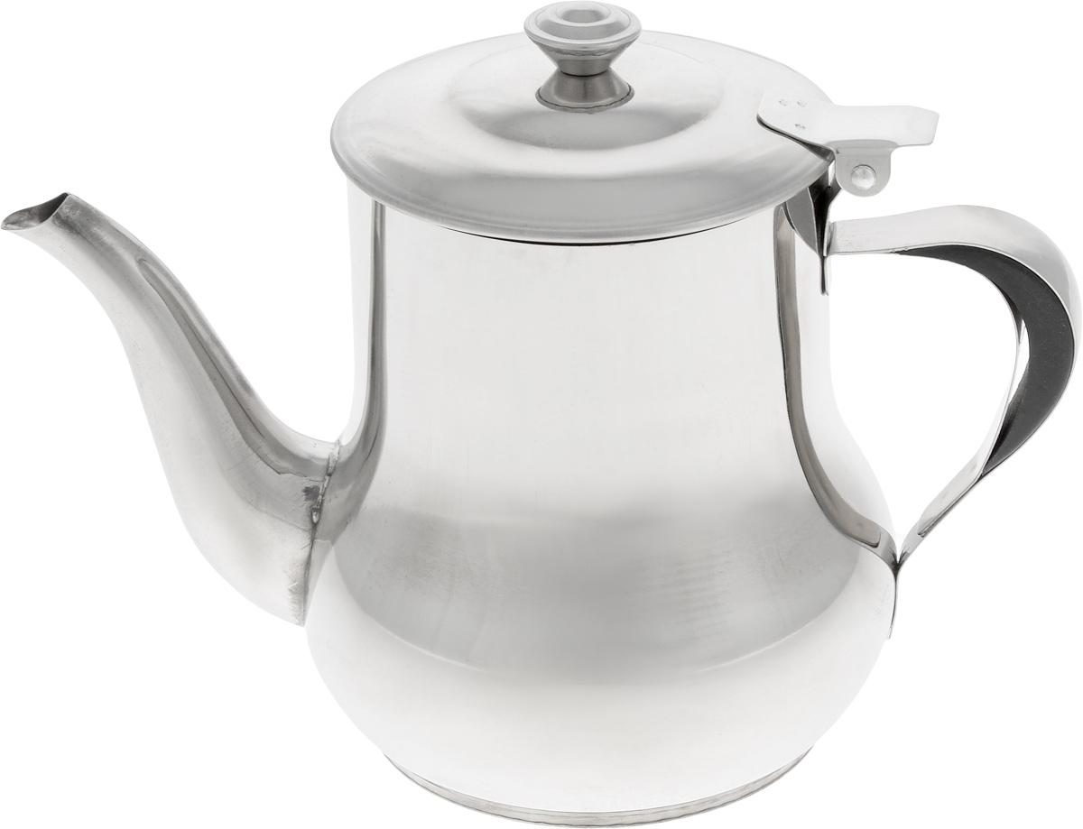 """Заварочный чайник """"Mayer & Boch"""" изготовлен из высококачественной нержавеющей стали, что  делает его весьма гигиеничным и устойчивым к износу при длительном использовании. Гладкая и  ровная поверхность существенно облегчает уход за посудой. Изделие оснащено сетчатым  фильтром, который задерживает чаинки и предотвращает их попадание в чашку.  Откидывающаяся крышка удобна при использовании чайника.  Чай в таком чайнике дольше остается горячим, а полезные и  ароматические свойства полностью сохраняются в напитке. Подходит для  использования на электрических, газовых и стеклокерамических плитах.   Диаметр чайника (по верхнему краю): 8 см.   Высота чайника (с учетом крышки): 13 см."""