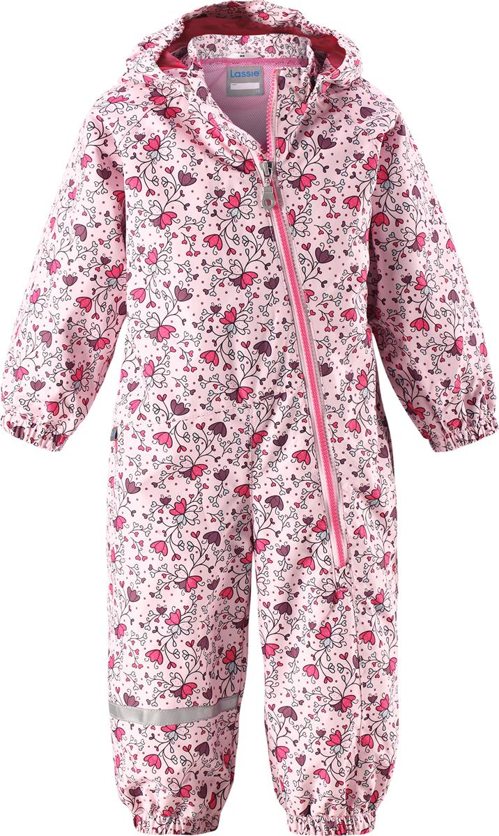 Комбинезон детский Lassie, цвет: розовый. 710703R407. Размер 68 комбинезон детский lassie цвет сиреневый темно синий 720703r5691 размер 86