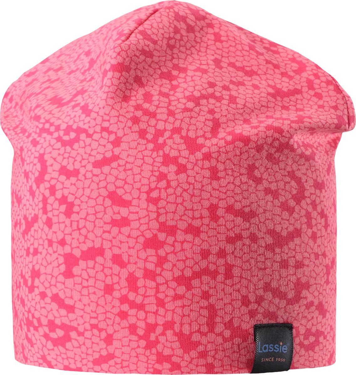 Шапка детская Lassie, цвет: розовый. 7287003400. Размер 50/52 шапка детская lassie цвет бордовый 728693 4980 размер s 46 48