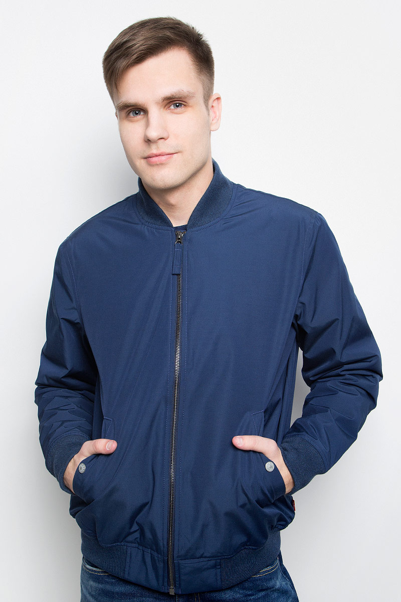 Бомбер мужской Levi's®, цвет: темно-синий. 2247000050. Размер XL (52) бомбер printio мода 2017