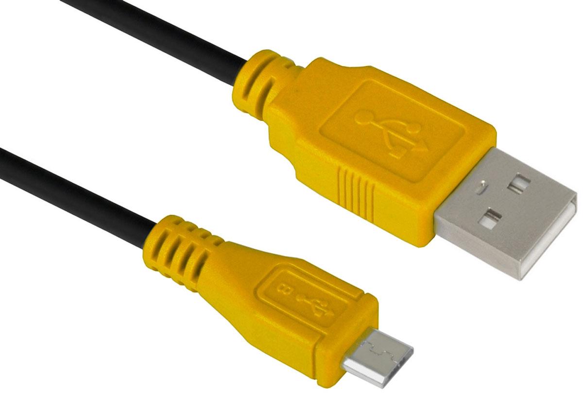 Greenconnect GCR-UA3MCB1-BB2S кабель microUSB-USB (1 м)GCR-UA3MCB1-BB2S-1.0mКабель micro USB 2.0 Greenconnect GCR-UA3MCB1-BB2S позволит подключать мобильные телефоны, смартфоны, планшеты и другие USB устройства с разъемом micro USB к ПК, ноутбукам, и Macbook.С помощью этого кабеля можно легко передавать музыку, фото, видео ролики, фильмы, файлы с ПК на мобильное устройство и обратно.Одновременно с передачей данных, кабель USB 2.0 может сократить время зарядки USB устройств до 1,5 часов.Пропускная способность интерфейса: до 480 Мбит/сТип оболочки: PVC (ПВХ)
