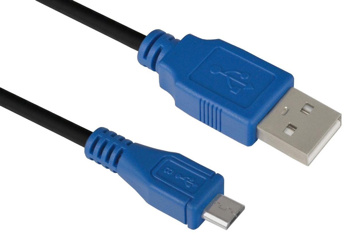 Greenconnect GCR-UA5MCB1-BB2S кабель microUSB-USB (0,75 м)GCR-UA5MCB1-BB2S-0.75mКабель micro USB 2.0 Greenconnect GCR-UA5MCB1-BB2S позволит подключать мобильные телефоны, смартфоны, планшеты и другие USB устройства с разъемом micro USB к ПК, ноутбукам, и Macbook.С помощью этого кабеля можно легко передавать музыку, фото, видео ролики, фильмы, файлы с ПК на мобильное устройство и обратно.Одновременно с передачей данных, кабель USB 2.0 может сократить время зарядки USB устройств до 1,5 часов.Пропускная способность интерфейса: до 480 Мбит/сТип оболочки: PVC (ПВХ)