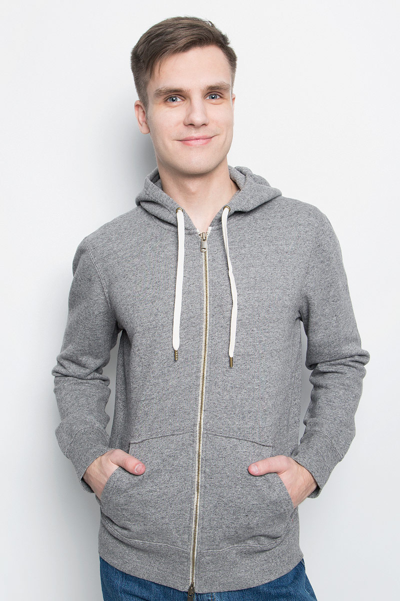Худи мужское Levi's®, цвет: светло-серый.1580400010. Размер XXL (54) худи print bar beyonce