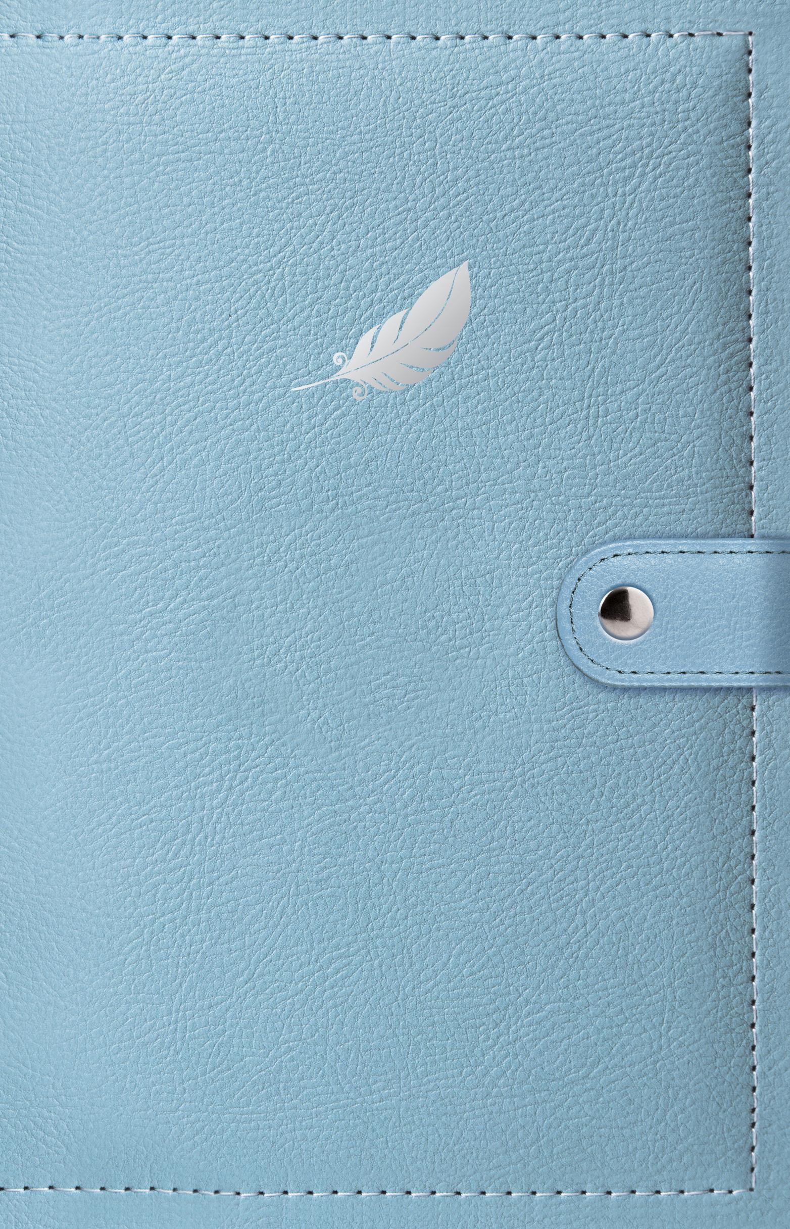 Дневник мечты. Перо блокнот в пластиковой обложке mind ulness лаванда формат малый 64 страницы