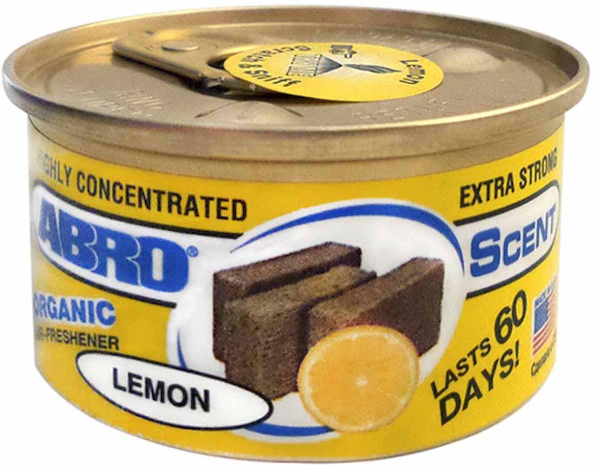 Освежитель воздуха Abro Органик, лимонAS-560-LEВысококонцентрированный освежитель воздуха на основе натуральных органических компонентов с широкой линейкой приятных ароматов сохраняет аромат до 60 дней.Содержит органические натуральные компоненты.