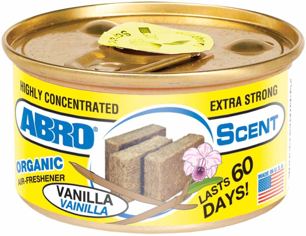 Освежитель воздуха Abro Органик, ванильAS-560-VAВысококонцентрированный освежитель воздуха на основе натуральных органических компонентов с широкой линейкой приятных ароматов сохраняет аромат до 60 дней.Содержит органические натуральные компоненты.