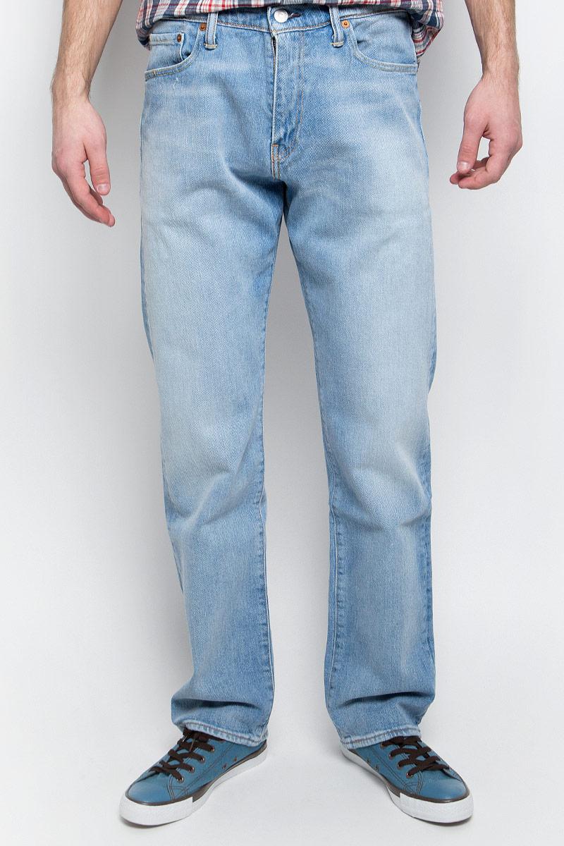 Джинсы мужские Levi's® 504, цвет: голубой. 2999005530. Размер 32-34 (48-34) джинсы