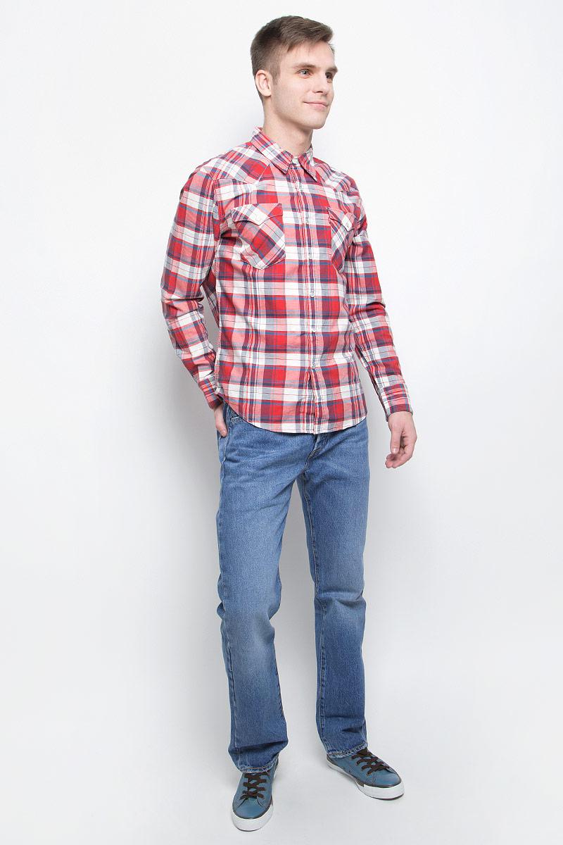 Джинсы мужские Levi's® 501, цвет: темно-голубой. 0050123810. Размер 33-34 (48/50-34) купить джинсы levis 501 мужские купить