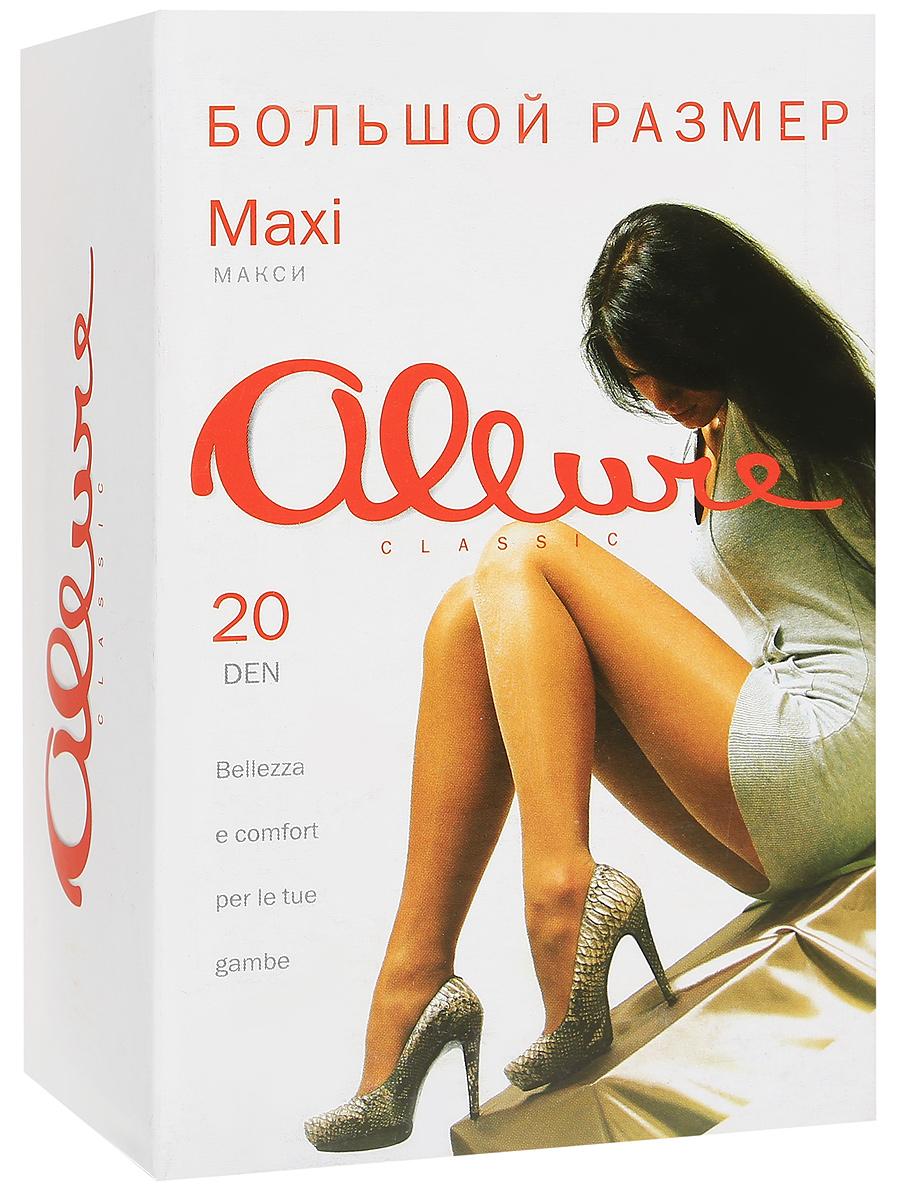 Колготки Allure Maxi 20, цвет: Nero (черный). Размер 8Maxi 20Тонкие матовые колготки классической модели для летнего сезона. Большой размер, усиленная верхняя часть, мягкий пояс, большая вставка и укрепленный носок.
