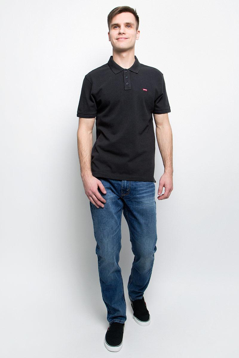 Джинсы мужские Levis® 512, цвет: синий. 2883300200. Размер 33-34 (48/50-34)2883300200Мужские джинсы Levis® 512 выполнены из высококачественного эластичного хлопка. Джинсы-слим заниженной посадки застегиваются на пуговицу в поясе и ширинку на застежке-молнии, дополнены шлевками для ремня. Джинсы имеют классический пятикарманный крой: спереди модель дополнена двумя втачными карманами и одним маленьким накладным кармашком, а сзади - двумя накладными карманами. Модель украшена декоративными потертостями и мелкими перманентными складками.