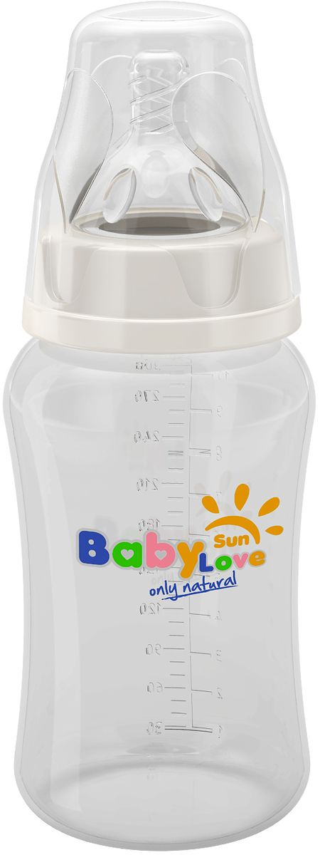 Baby Sun Love Бутылочка для кормления 300 мл