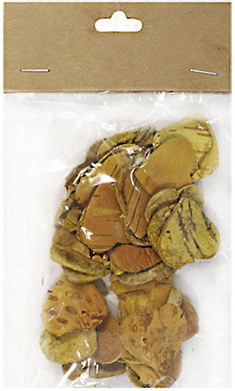 Декоративные элементы YW205, цвет: желтый, 3 см, 30 шт
