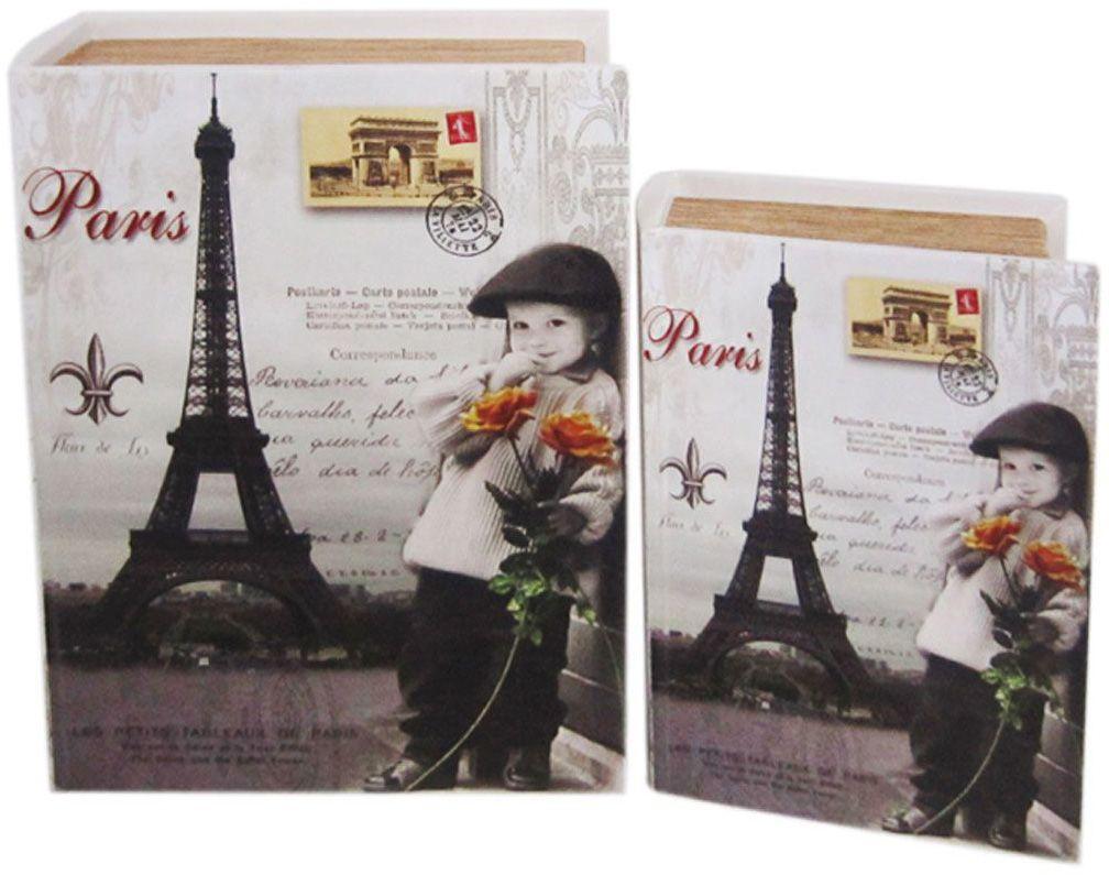 Шкатулка для рукоделия Письмо из Парижа, 19х13х5 см. TL4569S771517002