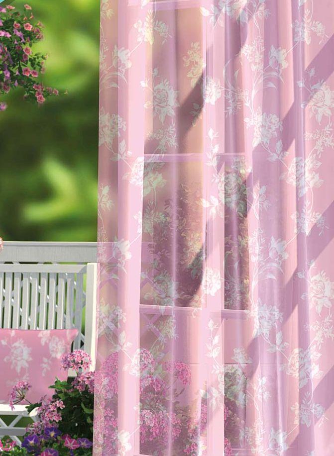 Комплект штор Волшебная ночь Plum Rose, на ленте, цвет: розовый, высота 270 см704567Шторы коллекции Волшебная ночь - это готовое решение для интерьера, гарантирующее красоту, удобство и индивидуальный стиль.Шторы изготовлены из ткани вуаль, которая почти не мешает прохождению света, но защищает комнату от посторонних взглядов.Длина штор регулируется с помощью клеевой паутинки (в комплекте). Изделия крепятся на вшитую шторную ленту: на крючки или путем продевания на карниз.Высота: 270 см.