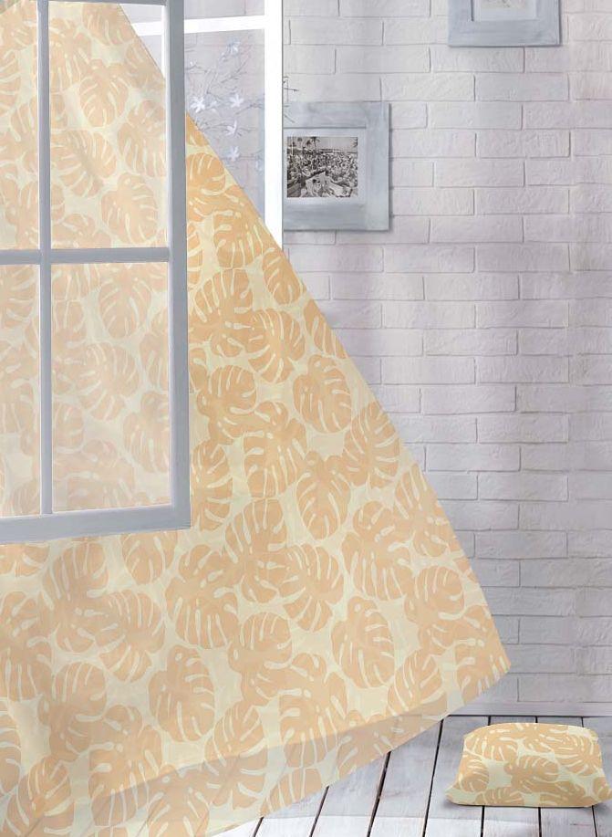 """Шторы коллекции """"Волшебная ночь"""" - это готовое решение для интерьера, гарантирующее красоту, удобство и индивидуальный стиль. Шторы изготовлены из ткани вуаль, которая почти не мешает прохождению света, но защищает комнату от посторонних взглядов. Длина штор регулируется с помощью клеевой паутинки (в комплекте). Изделия крепятся на вшитую шторную ленту: на крючки или путем  продевания на карниз. Высота: 270 см."""
