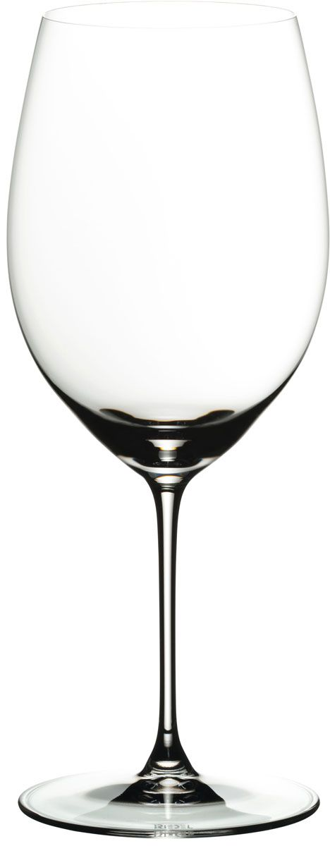 Набор фужеров для красного вина Riedel Veritas. Cabernet. Merlot, цвет: прозрачный, 625 мл, 2 шт6449/0