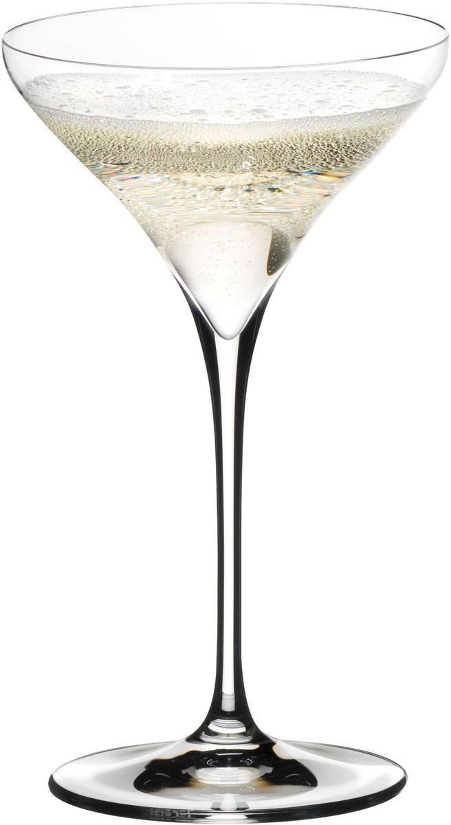Набор фужеров для коктейлей Riedel Vitis. Martini , цвет: прозрачный, 270 мл, 2 шт