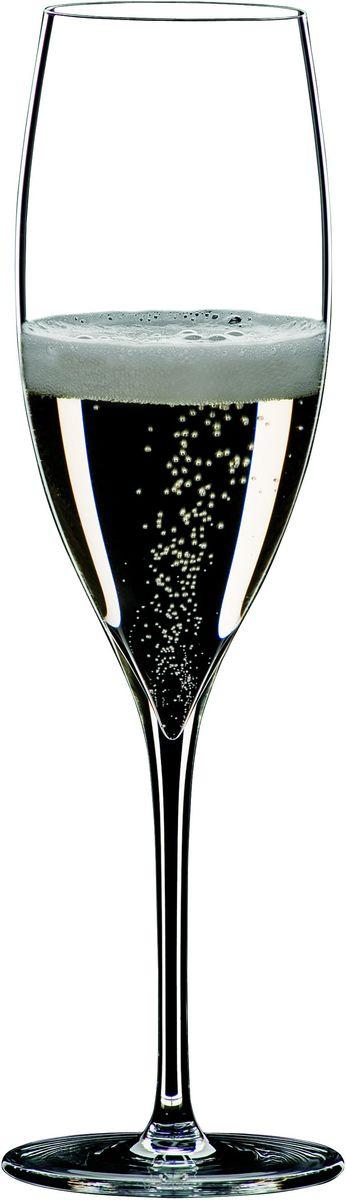 Набор фужеров для шампанского Riedel Grape. Champagne Glass, цвет: прозрачный, 250 мл, 2 шт