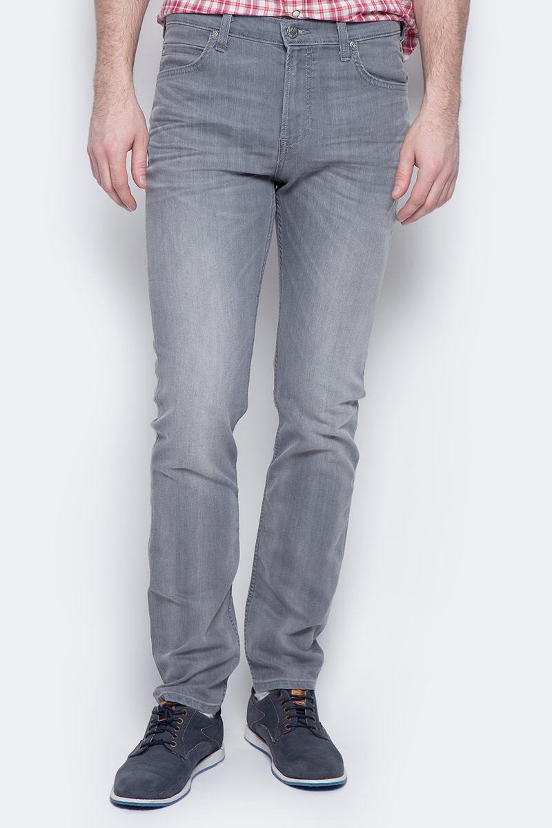 Джинсы мужские Lee Rider, цвет: серый. L701YBFR. Размер 33-34 (48/50-34) джинсы lee джинсы powell