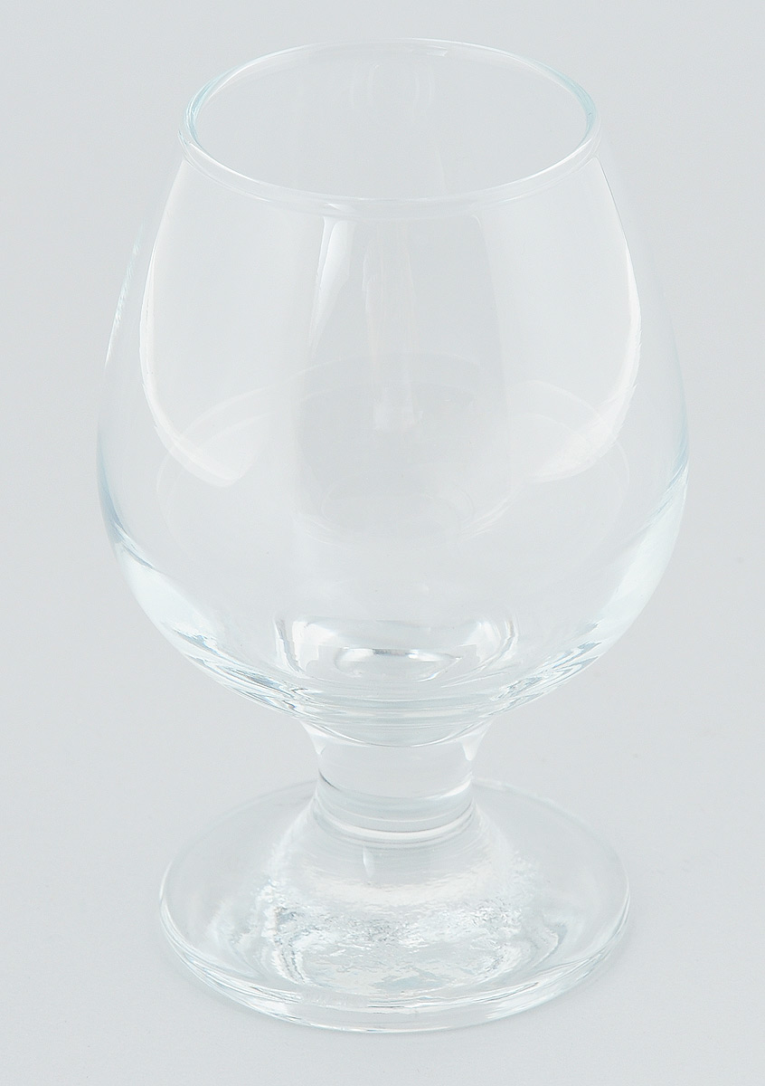 """Бокал для коньяка и бренди """"Бистро"""" изготовлен из высококачественного силикатного стекла и имеет утонченную форму.  Этот бокал станет помощником в любой ситуации."""
