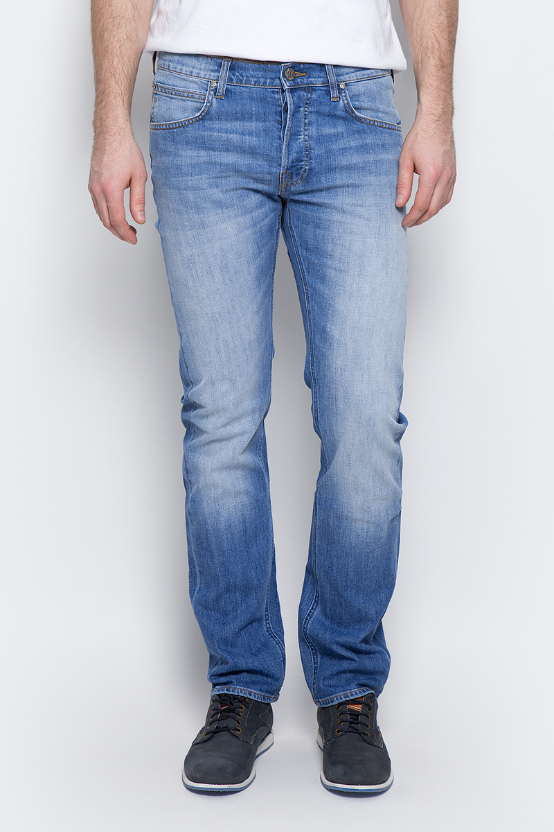 Джинсы мужские Lee Daren, цвет: голубой. L706CDJX. Размер 33-34 (48/50-34)