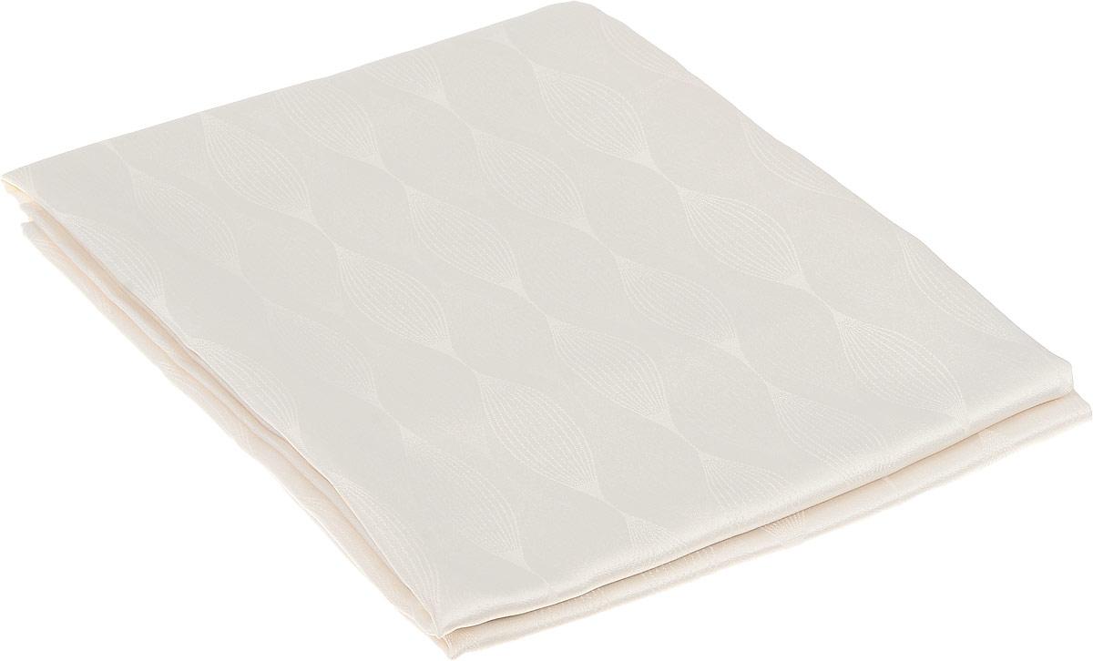 Скатерть Schaefer, прямоугольная, цвет: кремовый, 130 х 170 см. 07733-429 скатерти schaefer скатерть 130 225см 100