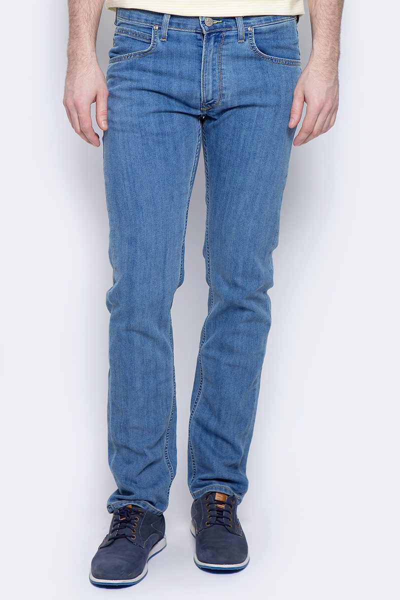 Купить Джинсы мужские Lee Daren Zip Fly, цвет: синий. L707ACHN. Размер 31-32 (46/48-32)