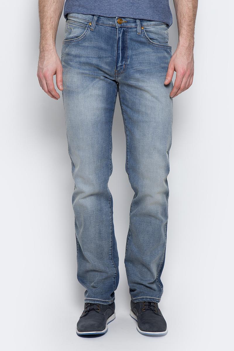 Джинсы мужские Wrangler Arizona, цвет: синий. W12OMK88E. Размер 33-34 (48/50-34) джинсы wrangler джинсы arizona stretch
