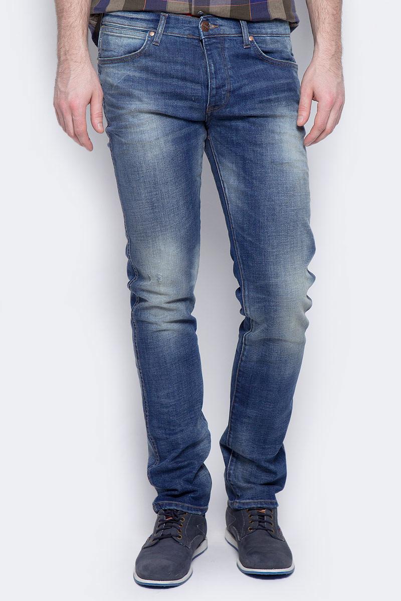 Джинсы мужские Wrangler Spencer, цвет: синий. W16AMW88Q. Размер 33-34 (48/50-34)