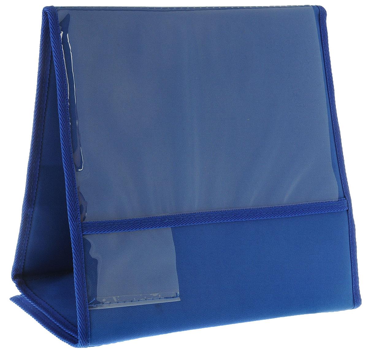 Табличка для животных  Заря-Плюс , выставочная, цвет: голубой, черный, 33 х 16 х 31 см - Клетки, вольеры, будки