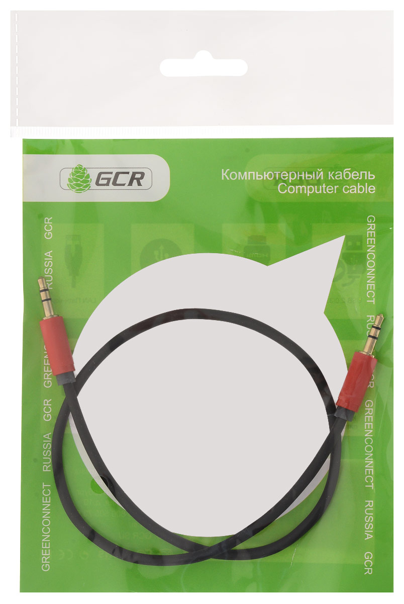 Greenconnect GCR-AVC115 аудио-кабель (0,5 м) greenconnect gcr tp6p4c white кабель телефонный 7 5 м