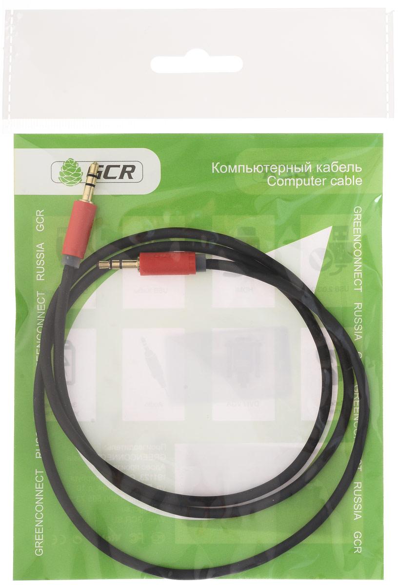 Greenconnect GCR-AVC115 аудио-кабель (1 м) 3 5 мужчинами aux вспомогательный выдвижной стерео разъем аудио кабель шнура грин