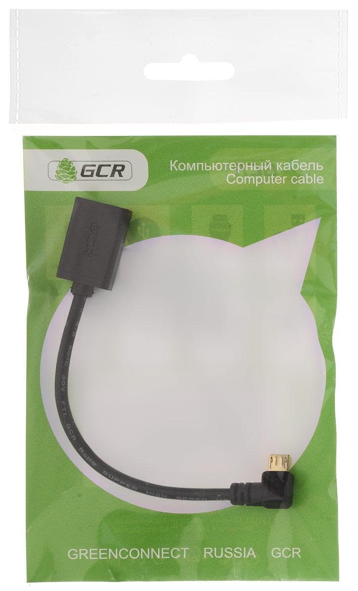 Greenconnect GCR-AMCB2AF-AA OTG-кабель (0,15 м)GCR-AMCB2AF-AA-0.15mКабель Greenconnect GCR-AMCB2AF-AA используется для подключения периферийных устройств, таких как мышь или клавиатура к вашей портативной электронике с разъемом microUSB OTG (On-The-Go).OTG (On-The-Go) функция позволяет синхронизировать периферийные USB-устройства с портативным девайсом напрямую - без необходимости подключения к ПК.