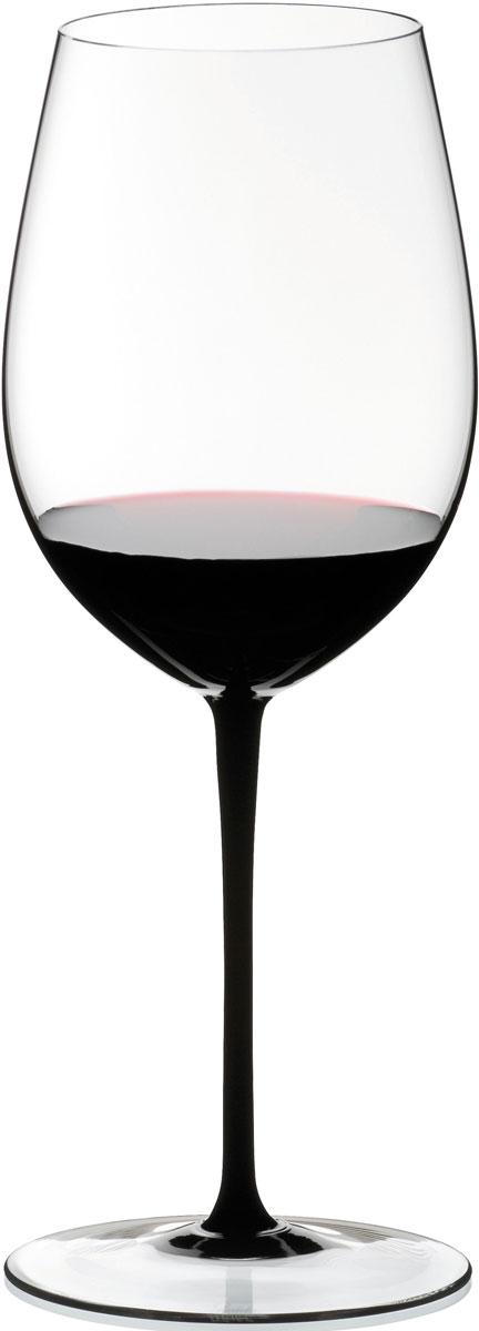 Фужер для красного вина Riedel Sommeliers Black Tie. Bordeaux Grand Cru, цвет: прозрачный, черный, 860 мл