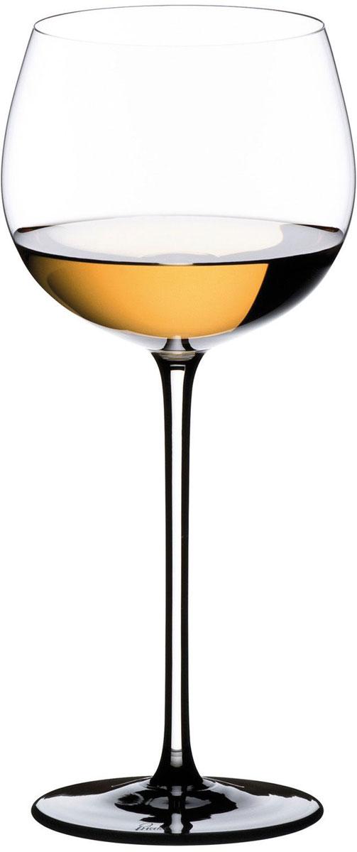 Фужер для белого вина Riedel Sommeliers Black Tie. Montrachet. Chardonnay, цвет: прозрачный, черный, 500 мл