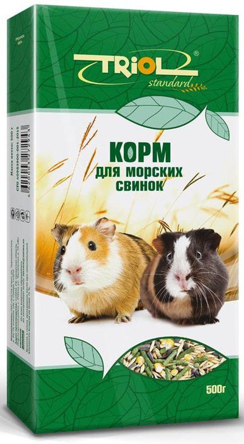 Корм для морских свинок Тriol Standard, 500 г корм вака высокое качество просо для птиц и грызунов 500 гр