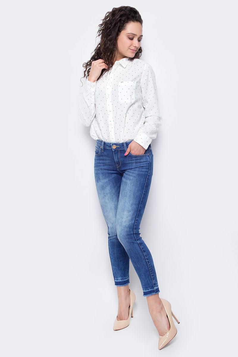 Джинсы женские Lee Scarlett, цвет: синий. L526PFOK. Размер 27-31 (42/44-31) женские джинсы lee