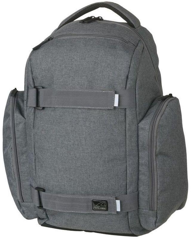 Walker Рюкзак школьный Delta Classic Grey Melange walker рюкзак школьный base classic tornado