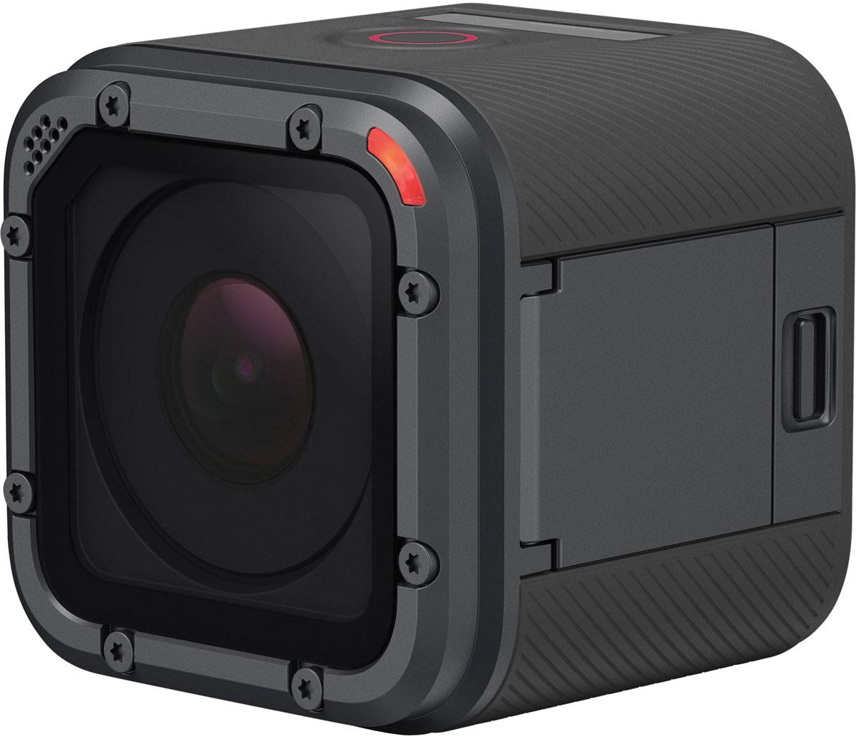 GoPro Hero 5 Session, Black экшн-камераCHDHS-502RWGoPro Hero 5 Session это новое поколение легендарных камер GoPro, в котором воплощены последние технические достижения компании GoPro.Для управления камерой используется всего одна многофункциональная кнопка, позволяющая переключать режимы работы и включать запись. Находящийся за ней небольшой дисплей отображает основную информацию о видео. Кроме того, устройство поддерживает функцию голосового управления, очень удобную для самостоятельной съёмки экстремальных спортивных соревнований. Теперь вы можете управлять камерой с помощью простых голосовых команд. А простая система креплений и компактный дизайн камеры GoPro Hero 5 Session позволит вам снять удивительные кадры в формате 4К или сделать отличные фотографии в разрешении 10 Мпикс.Интеллектуальная стабилизация видео обеспечит потрясающе плавное видео. Одно нажатие кнопки спуска затвора и ваша камера начинает запись автоматически. Прочный водонепроницаемый корпус HERO5 Session позволит погрузиться на на глубину до 10 метров за потрясающими кадрами подводного мира.С новой программой GoPro Plus, Hero 5 Session может загружать фотографии и видео непосредственно в облачное хранилище для удобного просмотра, редактирования и использования. Снимай и делись контентом из любой точки мира! Как выбрать экшн-камеру. Статья OZON Гид