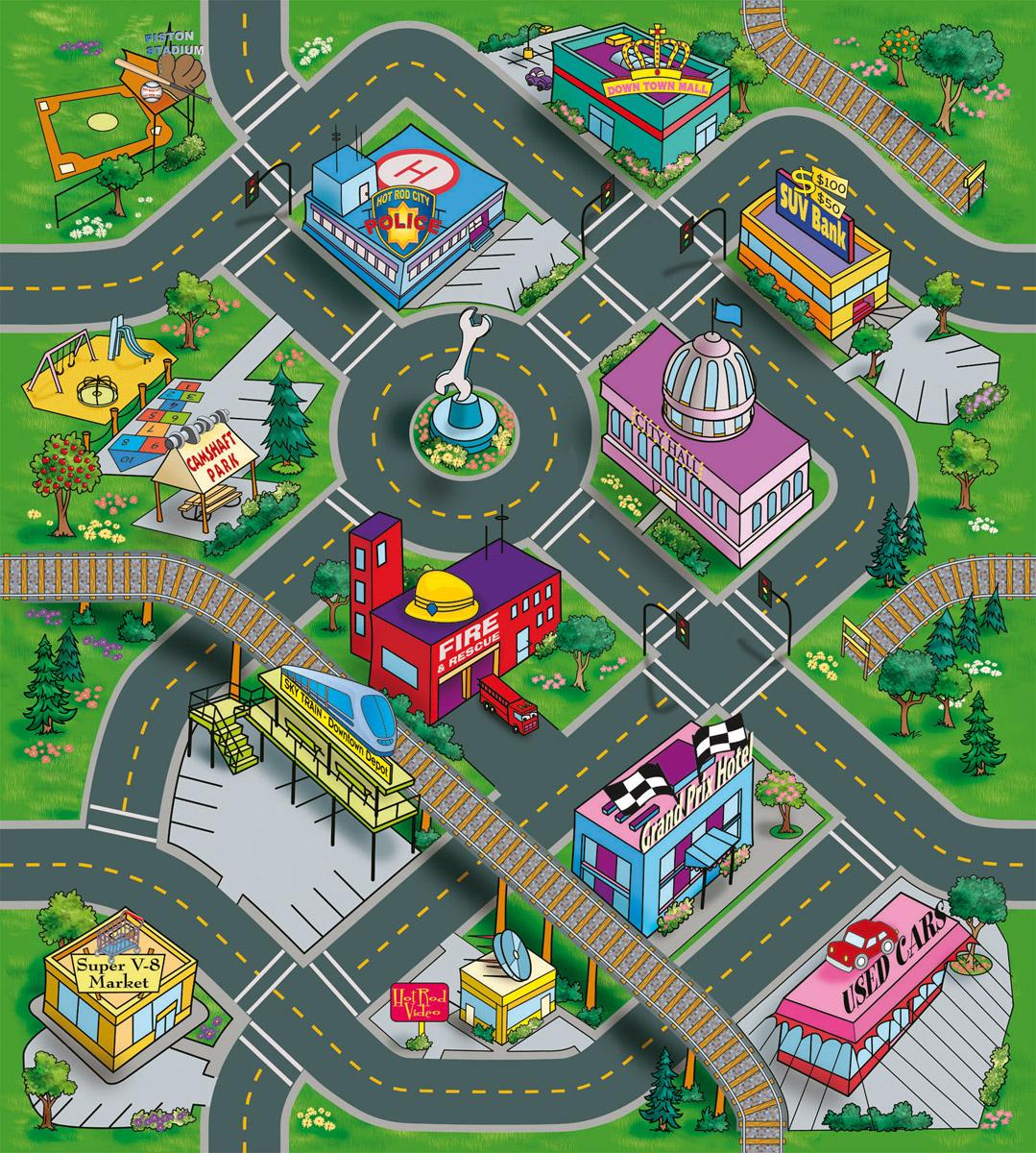 Dickie Toys Игровой набор Down Town dickie toys игровой набор маяк