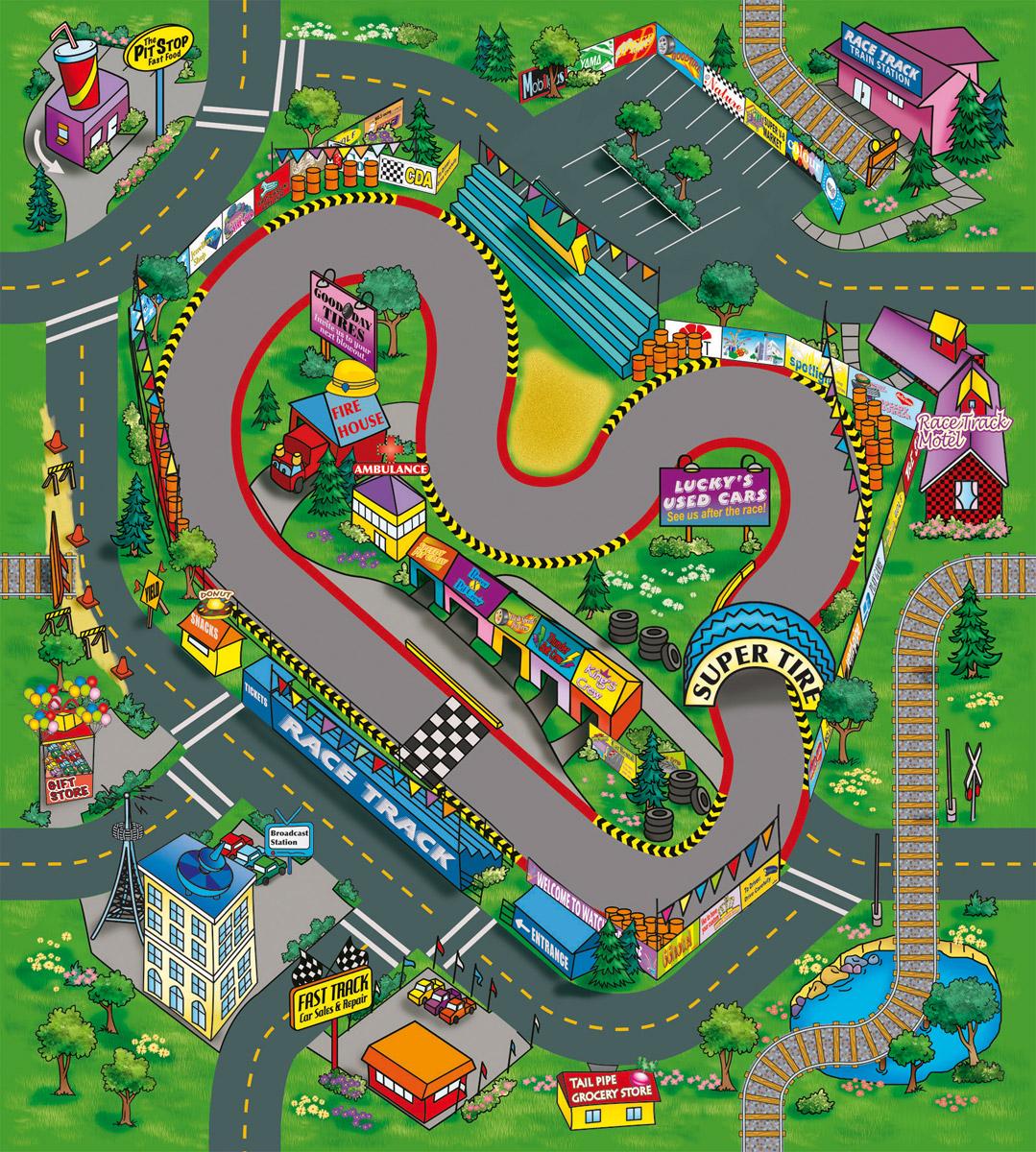 Dickie Toys Игровой набор Raсe Track dickie toys игровой набор маяк