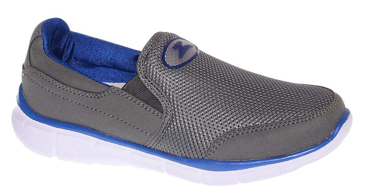 Кроссовки для мальчика Зебра, цвет: серый. 11623-10. Размер 3411623-10Стильные кроссовки от Зебра выполнены из дышащего текстиля. На подъеме модель дополнена эластичными вставками для удобства надевания. Внутренняя поверхность из текстиля комфортна при движении. Стелька выполнена из натуральной кожи и дополнена супинатором, который обеспечивает правильное положение ноги ребенка при ходьбе, предотвращает плоскостопие. Подошва с рифлением обеспечивает идеальное сцепление с любыми поверхностями.