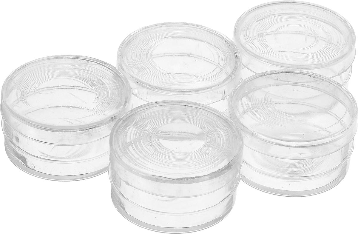 Набор баночек для мелочей Bestex, диаметр 4 см, 5 шт