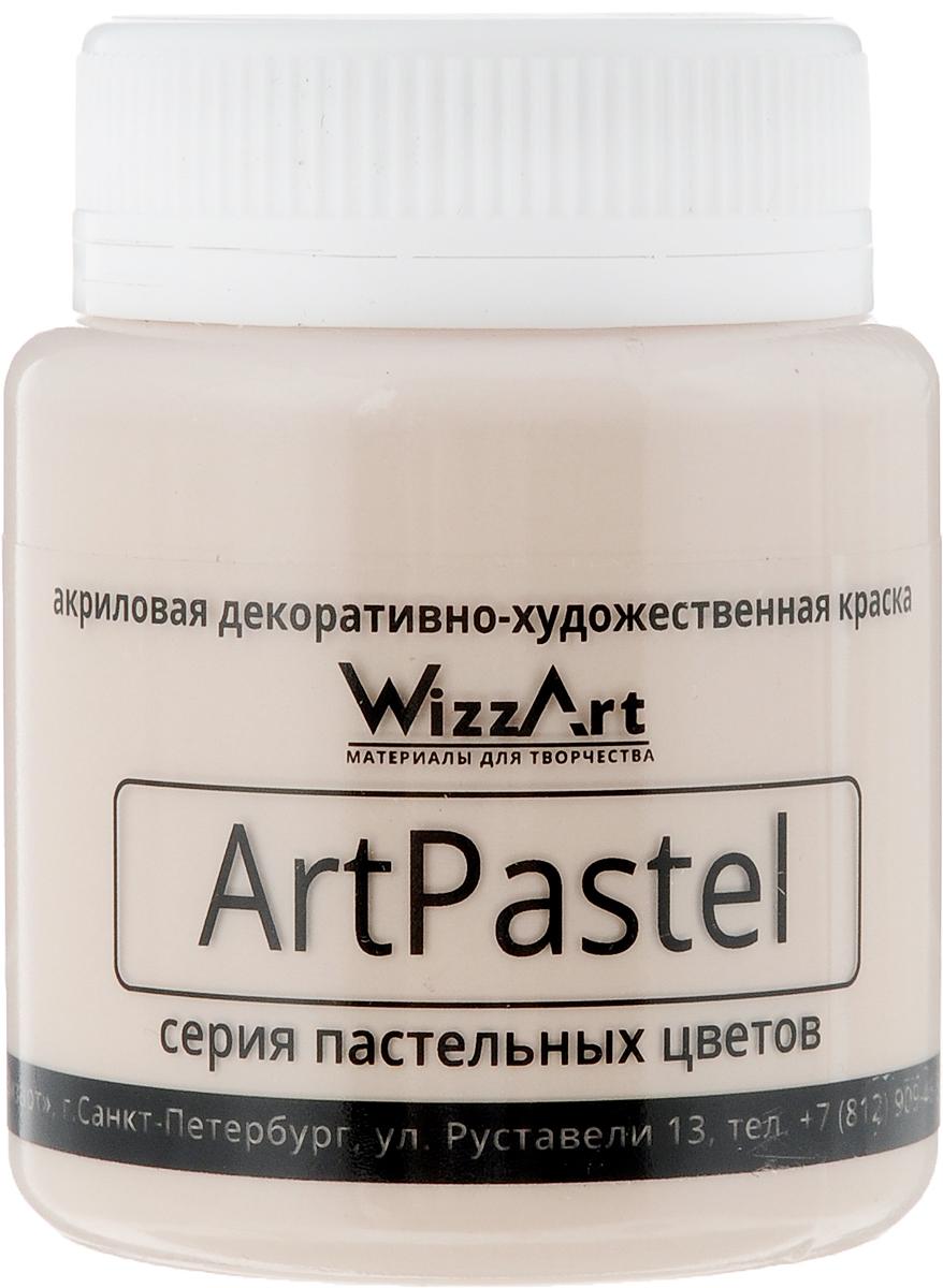 Краска акриловая Wizzart ArtPastel, цвет: пеcочный, 80 мл501016Wizzart ArtPastel - это универсальная, атмосферная акриловая краска для внутренних и наружных работ по бумаге, дереву, керамике, гипсу, бетону, загрунтованному металлу и другим поверхностям.Перед использованием необходимо перемешать.Объем: 80 мл.Товар сертифицирован.