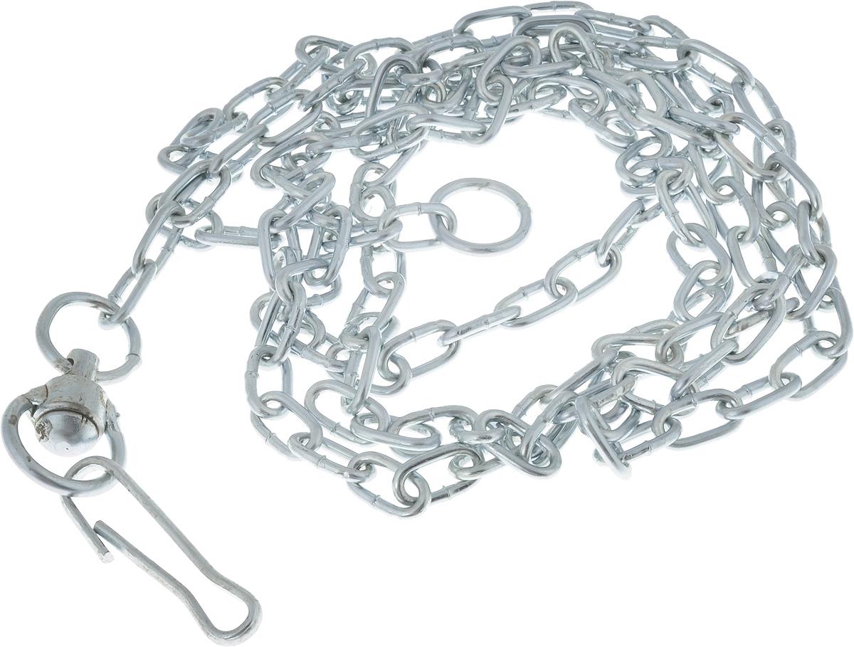 Цепь привязная для собак Мир Цепей, толщина 3 мм, длина 2,5 м цепи алмаз холдинг серебряная цепь almhspgц60 50