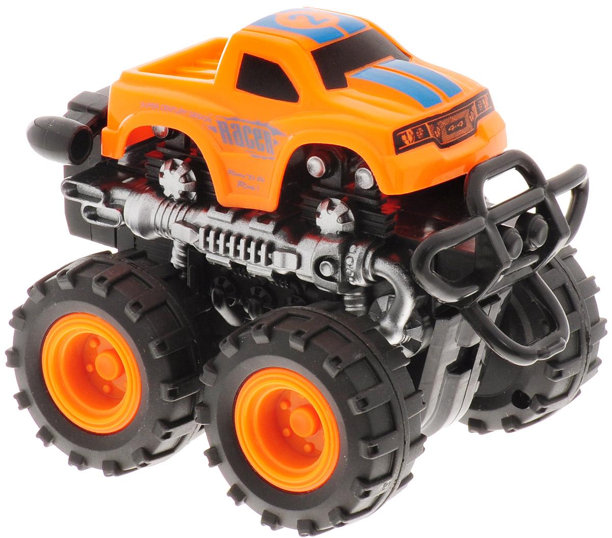 Big Motors Машинка инерционная 4 WD цвет оранжевый №2