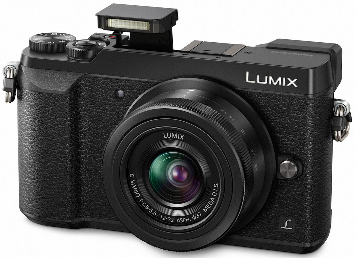 Panasonic Lumix DMC-GX80 Kit 12-32mm, Black цифровая фотокамера - Цифровые фотоаппараты
