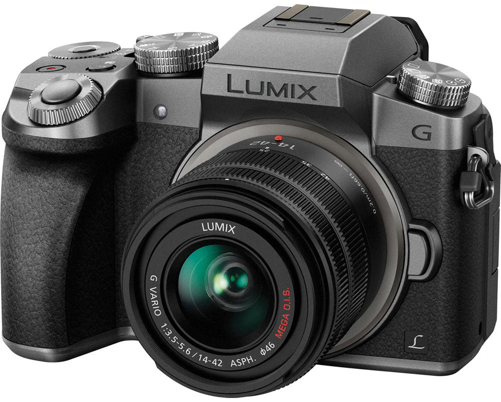 Panasonic Lumix DMC-G7 Kit 14-42mm, Silver цифровая фотокамера dmc g80 panasonic